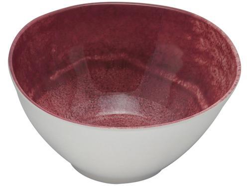 Saladeira Redonda Bon Gourmet Aqua - Vermelha