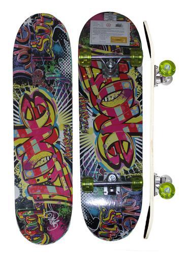 Skate Feminino Masculino Kit Proteção Skateboard Iniciante - Fenix Bri