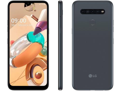 "Smartphone LG K41S LM-K410 32GB 6,55"" Desbloqueado Dual Chip Android 9.0 Pie Titânio"