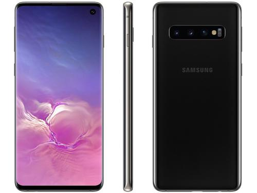 Smartphone Samsung Galaxy S10 SM-G973F Desbloqueado 128GB Dual Chip Android 9 Pie Preto