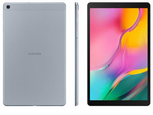 "Tablet Samsung Galaxy Tab A 32GB 10.1"" Wi-Fi SM-T510 Android 9.1 Prata"