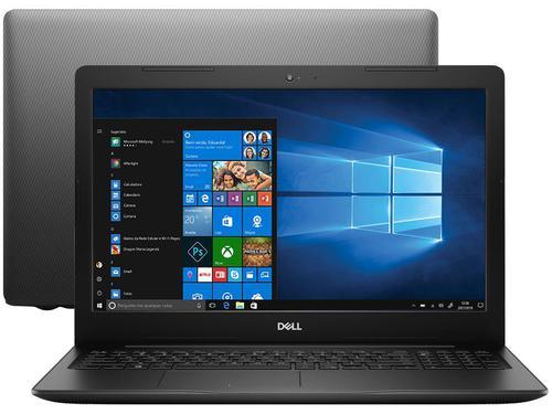 """Notebook Dell Inspiron 15 3000 i15-3583-A20P i5-8265U 8GB 2TB 1.6GHz 15.6"""" Windows 10 Preto"""