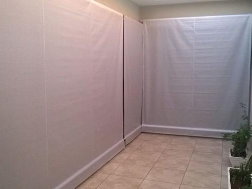 Toldo cortina pronto completo na medida de 1,50 x 2,50 - Cober