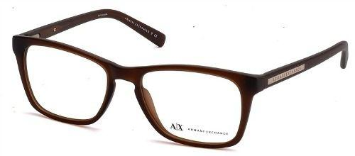 Armação De Óculos Armani Exchange Ax 3012l 8083 54-16 140 - Óptica ... 04d6114419