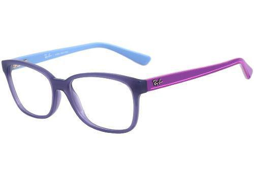 2b2bc2bcccda0 Armação De Óculos Feminino Infantil Ray-ban Rb 1571l 3716 - Armação ...