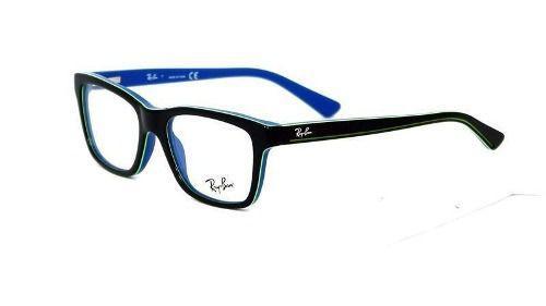 f47d5bb241662 Armação De Óculos Infantil Ray-ban Rb1536 3600 - Armação   Óculos de ...