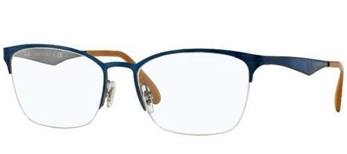 bdecf1babbd18 Armação De Óculos Ray-ban Rb 6345 2865 52-17 135 - Armação   Óculos ...