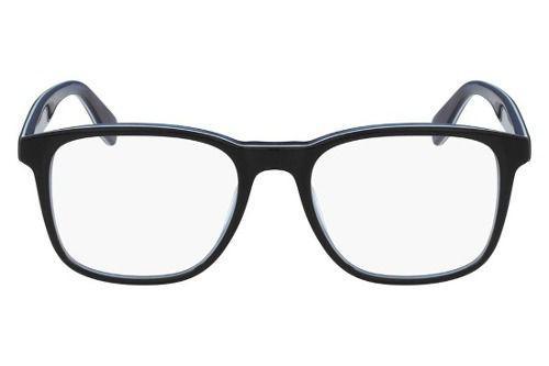 Armação Óculos De Grau Lacoste Masculino L2812 001 - Óptica ... cb7c23a5b7