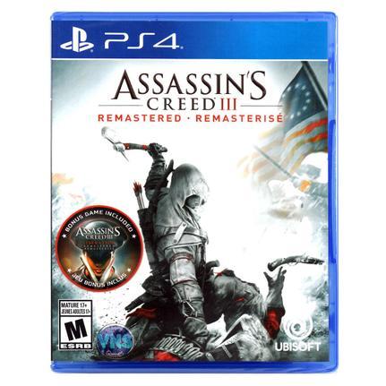 Jogo Assassin's Creed Iii Remastered - Playstation 4 - Ubisoft