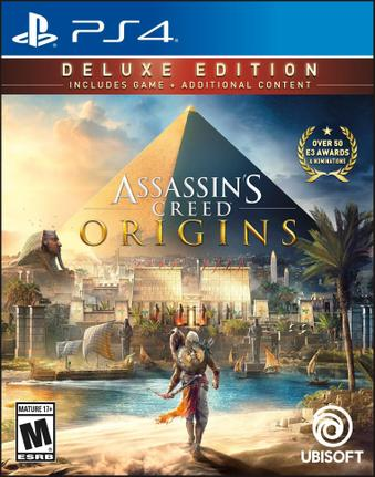 Jogo Assassin's Creed Origins Deluxe Edition - Playstation 4 - Ubisoft