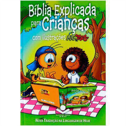 Biblia Explicada Para Criancas Mig Meg Capa Dura Ilustrada Sbb