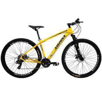 Bicicleta Cairu Flash Aro 20 Rígida 1 Marcha - Amarelo