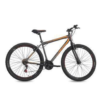 Bicicleta Status Bike Flexus 1.0 Aro 29 Rígida 21 Marchas - Cinza/laranja