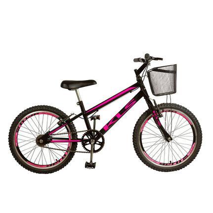 Bicicleta Kls Free Style Aro 20 Rígida 1 Marcha - Branco