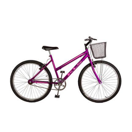 Bicicleta Kls Free Gold Aro 26 Rígida 1 Marcha - Rosa