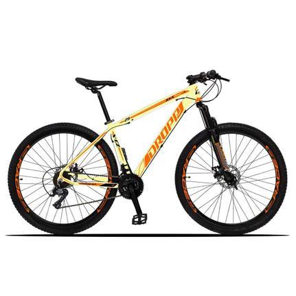 Bicicleta Dropp Z3x Disc H T17 Aro 29 Susp. Dianteira 21 Marchas - Bege