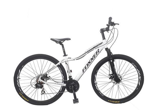 Bicicleta Foxxer Street Bike Pisa Aro 29 Susp. Dianteira 21 Marchas - Branco