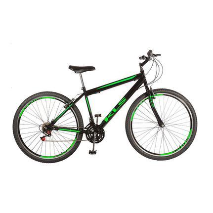 Bicicleta Kls Sport Gold Aro 26 Rígida 21 Marchas - Preto/verde