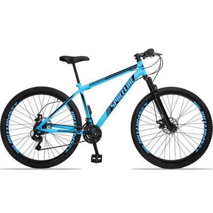 Bicicleta Spaceline Moon Disc T17 Aro 29 Susp. Dianteira 21 Marchas - Azul/preto