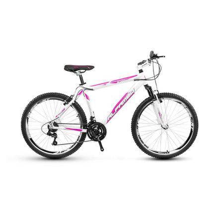 Bicicleta Alfameq Stroll Disc T21 Aro 29 Susp. Dianteira 21 Marchas - Rosa