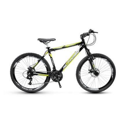 Bicicleta Alfameq Stroll Disc T19 Aro 29 Susp. Dianteira 24 Marchas - Preto/verde