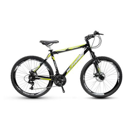Bicicleta Alfameq Stroll Disc T17 Aro 29 Susp. Dianteira 27 Marchas - Preto/verde