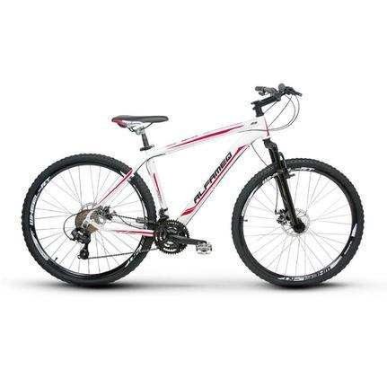 Bicicleta Alfameq Zahav T17 Aro 29 Susp. Dianteira 24 Marchas - Branco/vermelho