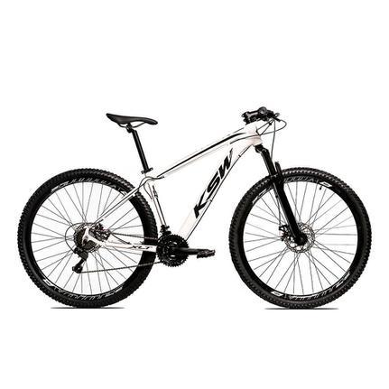 Bicicleta Ksw Xlt Disc M T19 Aro 29 Susp. Dianteira 24 Marchas - Branco