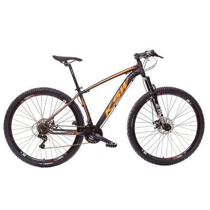 Bicicleta Ksw Ltx Disc H T15 Aro 29 Susp. Dianteira 27 Marchas - Laranja/preto