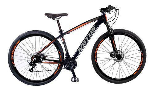 Bicicleta Sutton Notus Furios Aro 29 Susp. Dianteira 24 Marchas - Laranja/preto