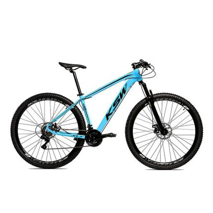 Bicicleta Ksw Xlt Disc H T19 Aro 29 Susp. Dianteira 24 Marchas - Azul