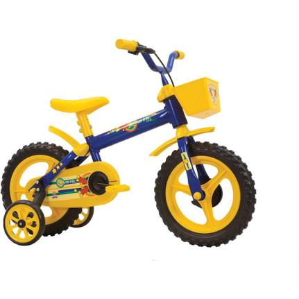 Bicicleta Track&bikes Arco-íris Aro 12 Rígida 1 Marcha - Azul