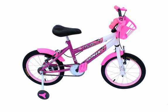 Bicicleta Onix Aro 16 Rígida 1 Marcha - Rosa