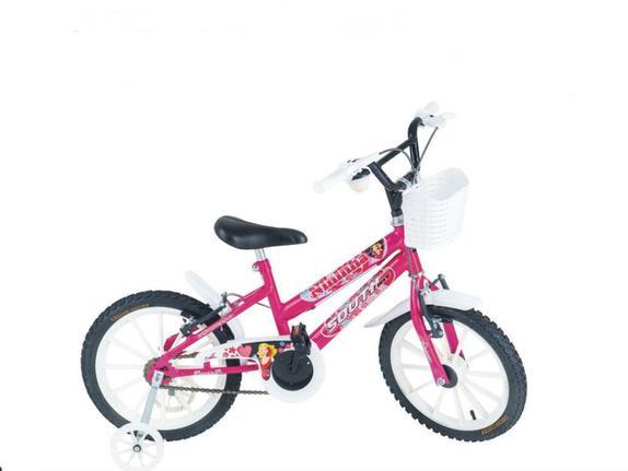Bicicleta Depedal Bikes Infantil Aro 16 Rígida 1 Marcha - Rosa