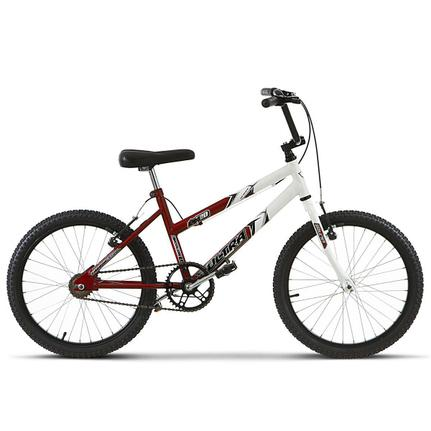 Bicicleta Ultra Bikes Pro Tork Aro 20 Rígida 1 Marcha - Branco/vermelho