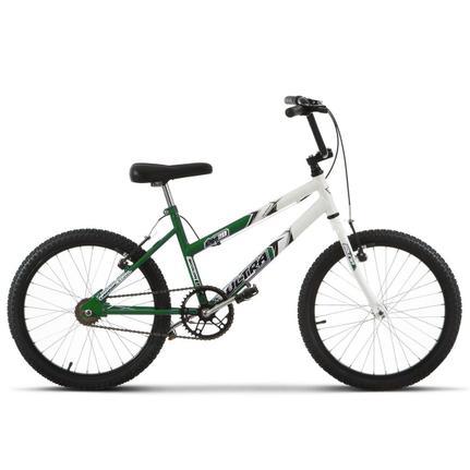 Bicicleta Ultra Bikes Pro Tork Aro 20 Rígida 1 Marcha - Branco/verde