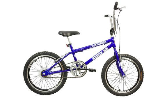 Bicicleta Mega Bike Fast Boy Aro 20 Rígida 1 Marcha - Azul