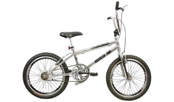 Bicicleta Mega Bike Free Style Aro 20 Rígida 1 Marcha - Cromado