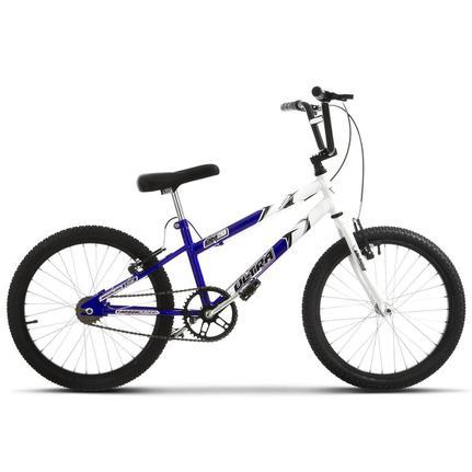 Bicicleta Ultra Bikes Pro Tork Rebaixada Aro 20 Rígida 1 Marcha - Azul/branco