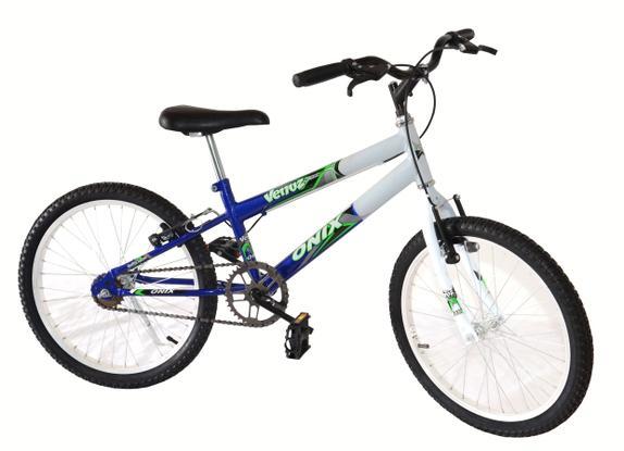 Bicicleta Onix Venuz Aro 20 Rígida 1 Marcha - Azul