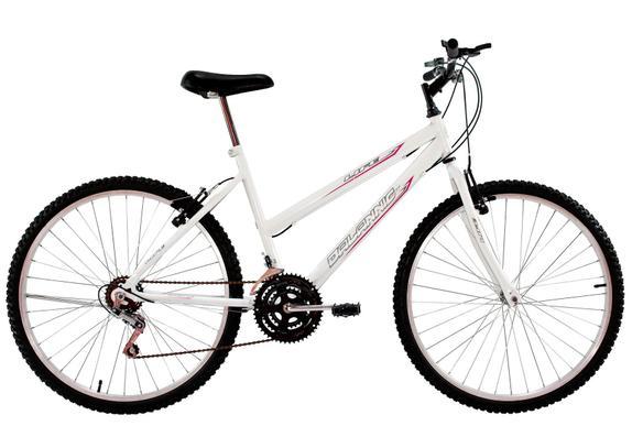 Bicicleta Dalannio Bike Life Aro 24 Rígida 18 Marchas - Branco