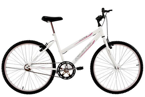 Bicicleta Dalannio Bike Life Aro 24 Rígida 1 Marcha - Branco