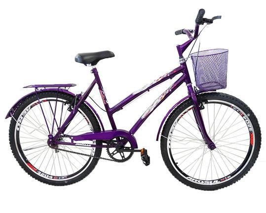 Bicicleta Ello Bike Melissa Aro 26 Rígida 10 Marchas - Violeta