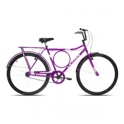 Bicicleta Ultra Bikes Poti Wave Aro 26 Rígida 1 Marcha - Lilás