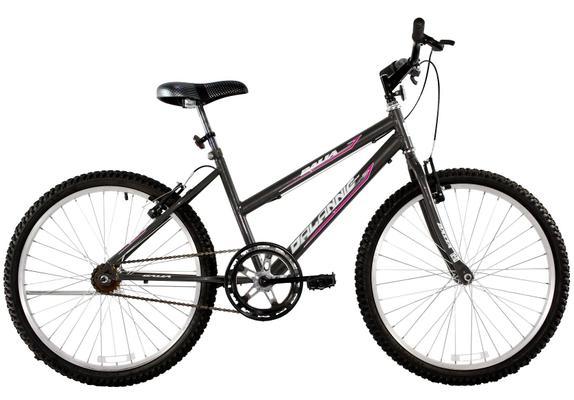 Bicicleta Dalannio Bike Dalia Aro 26 Rígida 1 Marcha - Grafite