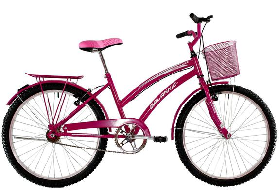 Bicicleta Dalannio Bike Susi Aro 26 Rígida 1 Marcha - Rosa