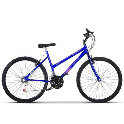 Bicicleta Ultra Bikes Chrome Line Aro 26 Rígida 18 Marchas - Azul