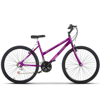 Bicicleta Ultra Bikes Pro Tork Aro 26 Rígida 18 Marchas - Lilás