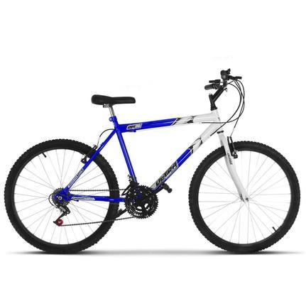 Bicicleta Ultra Bikes Pro Tork Ultra Aro 26 Rígida 18 Marchas - Azul/branco