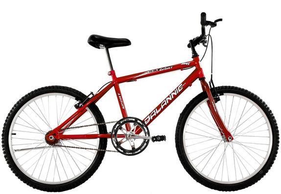 Bicicleta Dalannio Bike Sport Aro 26 Rígida 1 Marcha - Vermelho